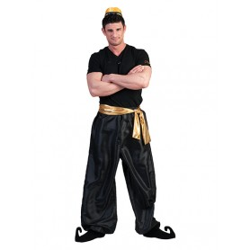 1001 Nights Trousers - Zwart