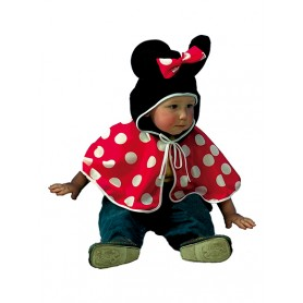 Baby minnie mouse cape