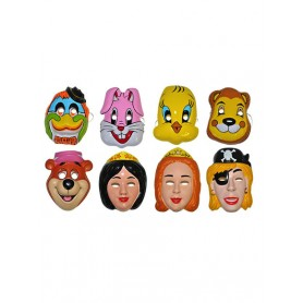 Cartoon maskers