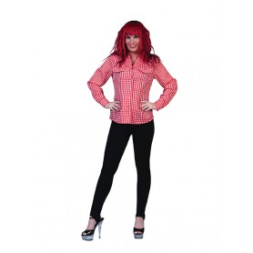 Checkered Shirt - Rood/wit