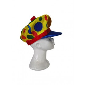 clown hat 'puffy dotty'