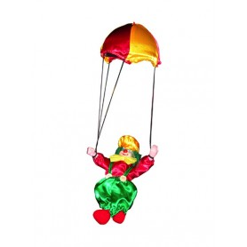 Clown parachute