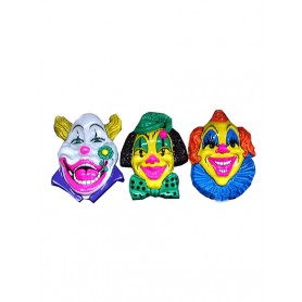 decoratie bord clown pvc