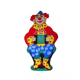 Decoratie bord clown