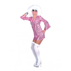 Disco Dress - Roze