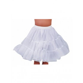 Petticoat knielengte - Wit