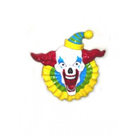 PVC Wandbord clown