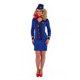 Stewardess skyblue