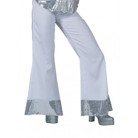 Disco Trousers - Wit