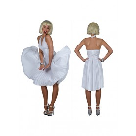 White Marilyn Dress
